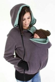Babycarier for mothers with limited arm movement