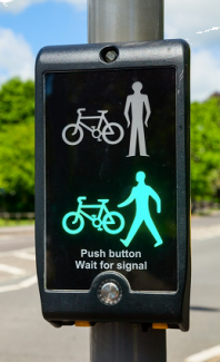 Pedestrian Crossing Activation from Wheelchair